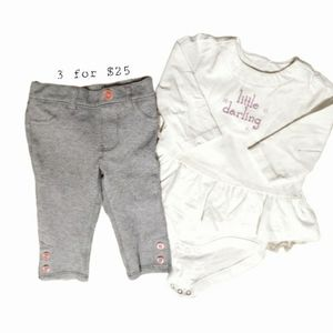 Kids Gymboree Set Size 3-6 month